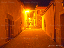 Calle de Ledesma en la noche