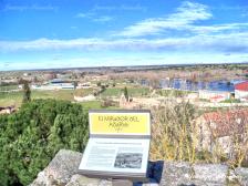 río Tormes en Ledesma desde arco de San Nicolás