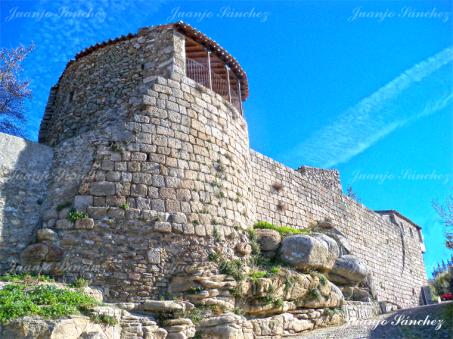 Torreón de la muralla de Ledesma